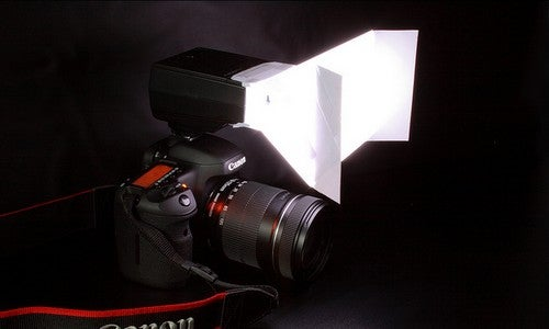 Turn a Sheet of Paper into a Simple Flash Softbox