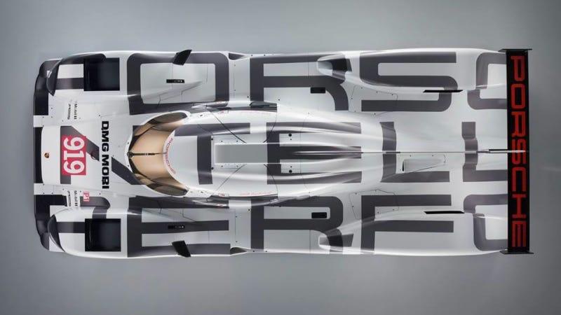 The Porsche 919 Le Mans Racer Actually Looks Amazing