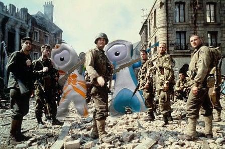 A Roundup Of London Olympic Mascot Photoshop Fun (UPDATES!)