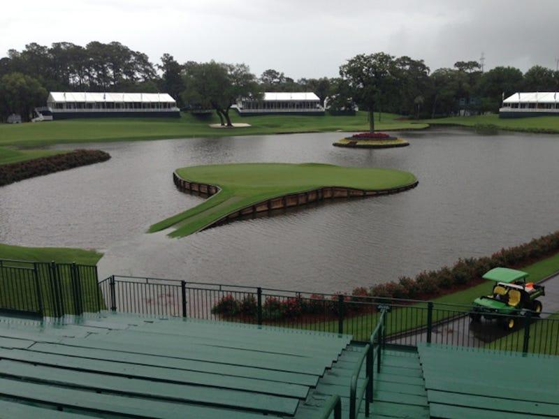 TPC Sawgrass Is Under Water
