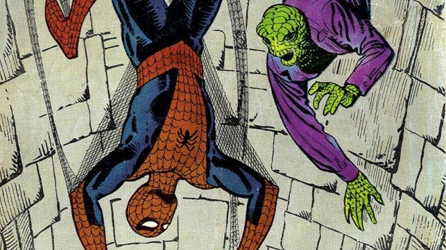 Is this concept art of The Lizard from The Amazing Spider-Man?