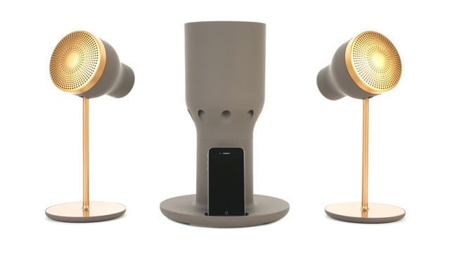 These Gorgeous Spotlight Speakers Beam Sound, Not Light