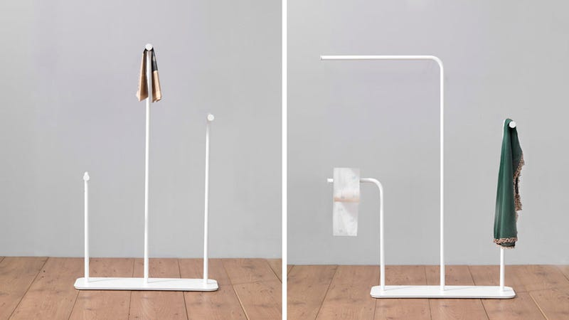 The Best Towel Rack Is the One You Barely Notice At All