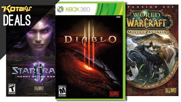 50% Blizzard Sale, $10 Vita Games, Xbox Cash, SONOS With Free Bonuses