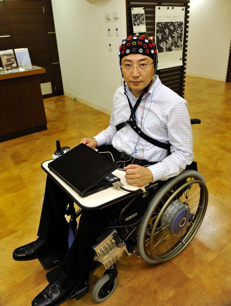Toyota Building Wheelchair Controlled By Brain Waves