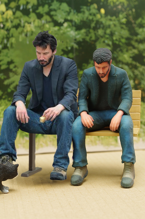 Kotaku 'Shop Contest: The Sad Keanu Figure: The Winners