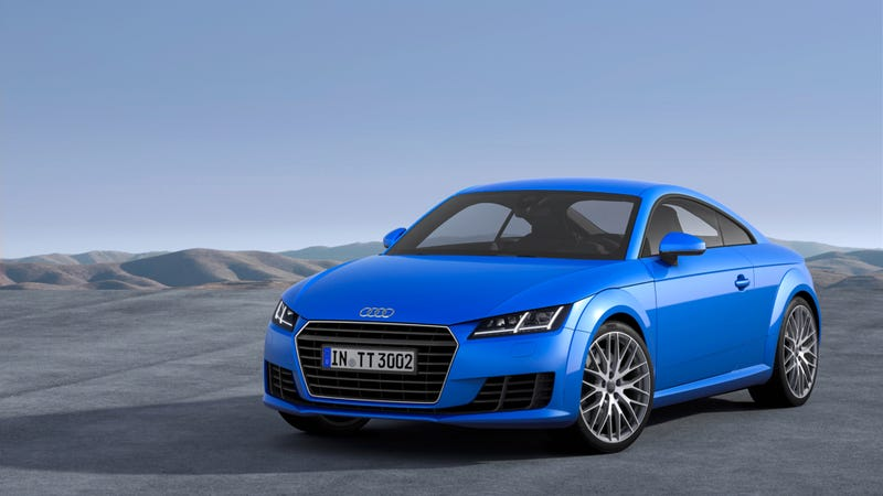 2015 Audi TTS Has 310 Horsepower And The Cockpit Of The Future