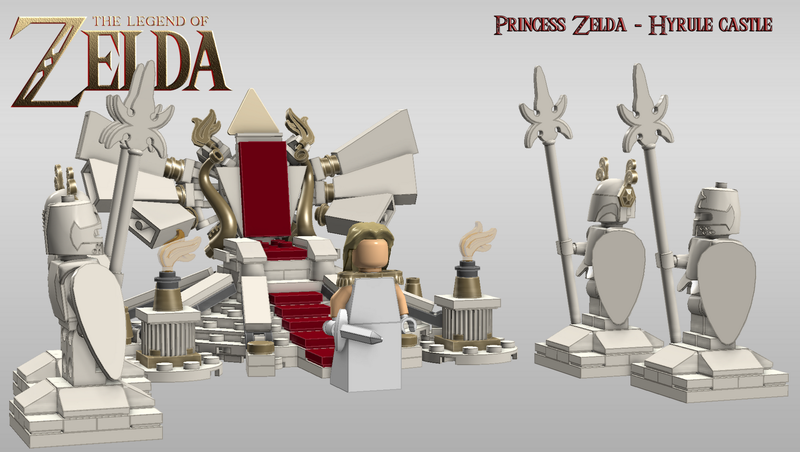 In a Perfect World, We'd be Able to Buy This Zelda LEGO