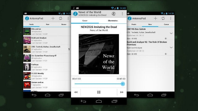 AntennaPod Is a Free, Feature-Packed Podcast Manager for Android