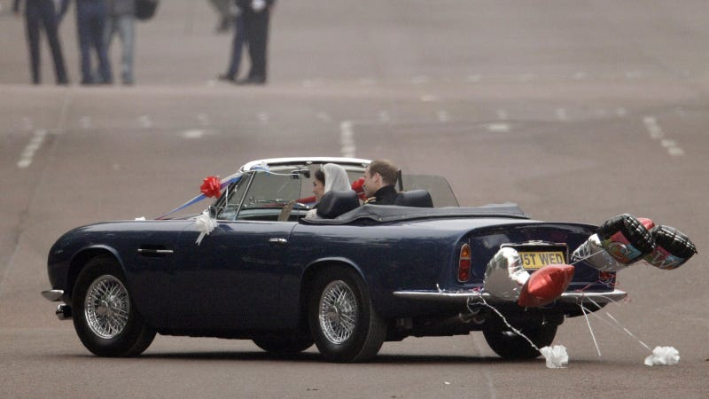 Prince William's awesome old Aston
