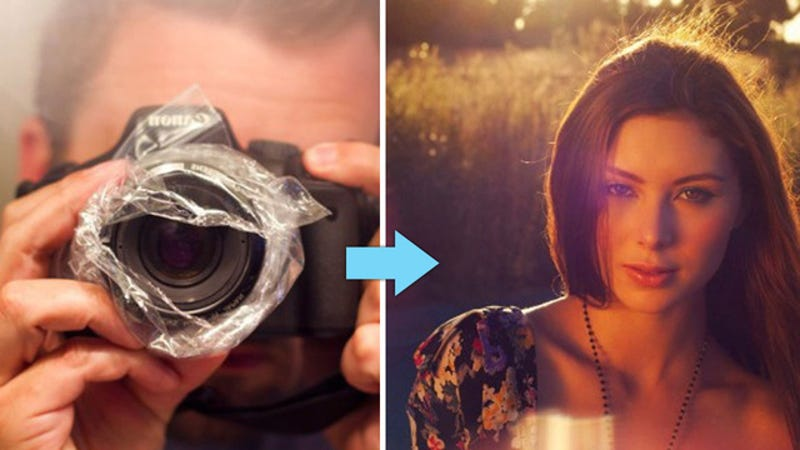 Use a Plastic Bag and the Camera You Already Have to Create Cool, Vintage-Style Photos