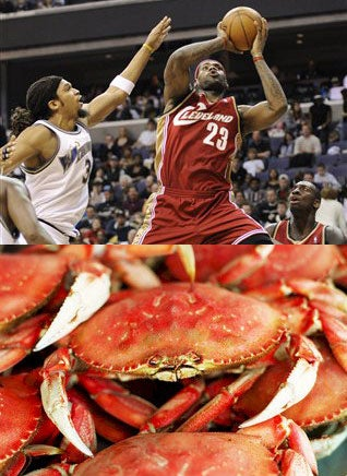 Sir Le Bron And The Legend of Crab Dribble
