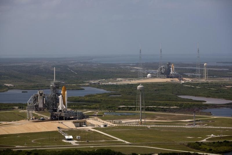 Two Space Shuttles Prepped For Launch, In One Of Their Very Final Missions... To Probe Our Cosmic Origins