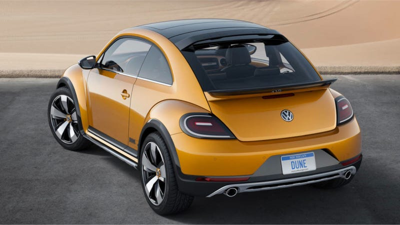 The Beetle Dune Concept Has Those Big Beefy Looks You Always Wanted