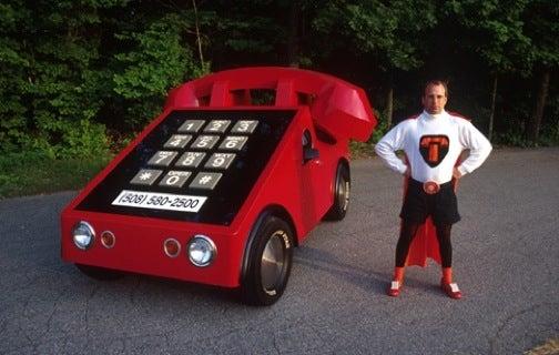 Wacky Telephone Car Guy Causes Tussle in My Backyard