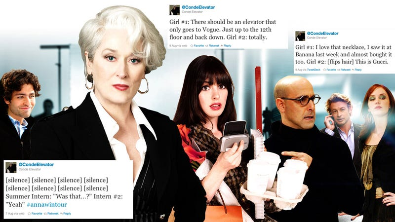 Let's Figure Out Who Created the Condé Nast Elevator Twitter Account