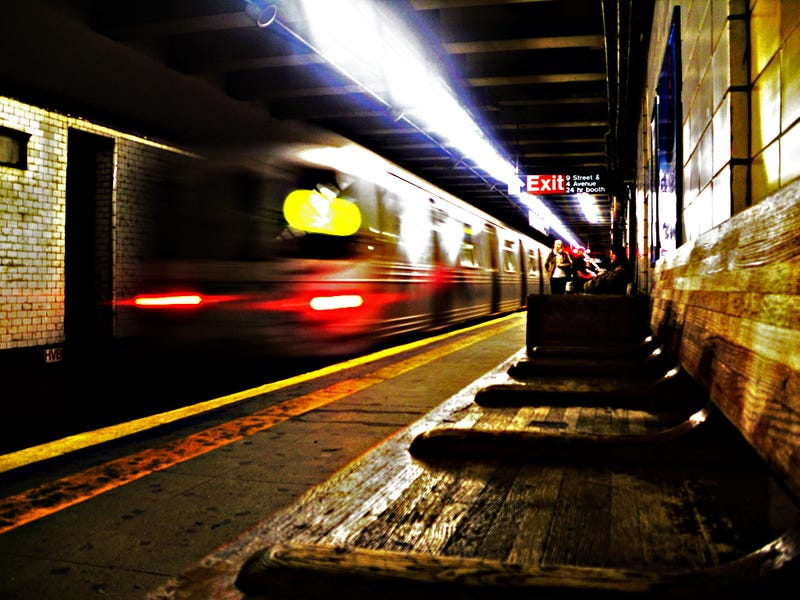 Validating Your Paranoia, Man Survives Oncoming R Train By Lying In The Gap