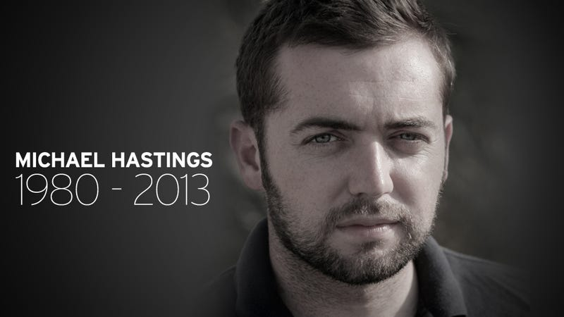 Journalist Michael Hastings Killed in Car Accident at 33