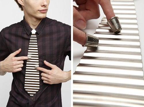 I Want This Absurd Washboard Necktie