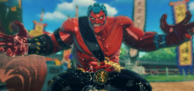 Hakan Oils Up For Super Street Fighter IV