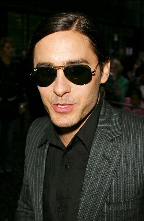 Jared Leto? Or Crispin Glover?