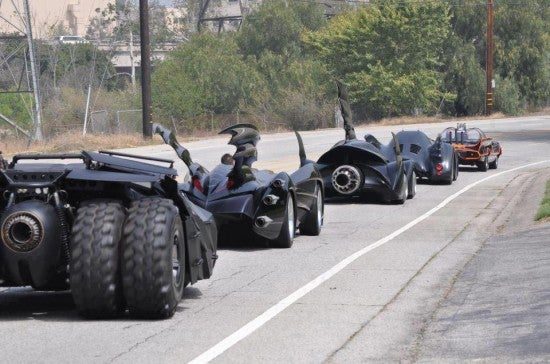 Batmobile Parade!