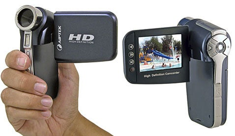 Aiptek A-HD Camcorder Stoops to New Low as Cheapest HD Camcorder