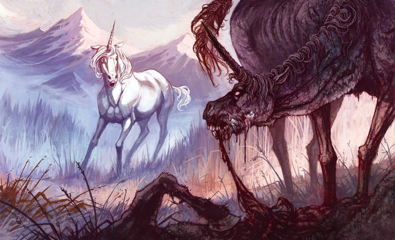 Concept Art Writing Prompt: The Rabid Unicorn