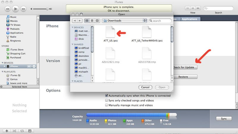 How to Enable MMS in iPhone 3.0 Right Now