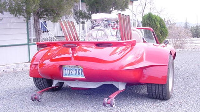 This Is The Weirdest Jaguar E-Type We've Ever Seen