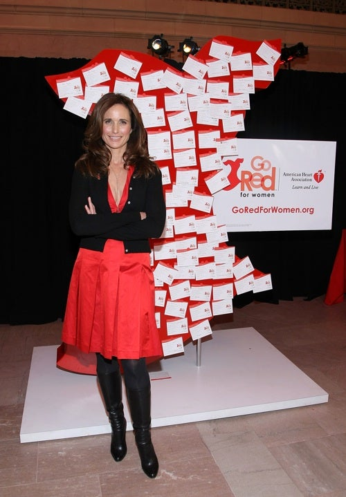 Andie McDowell Goes Red For Women