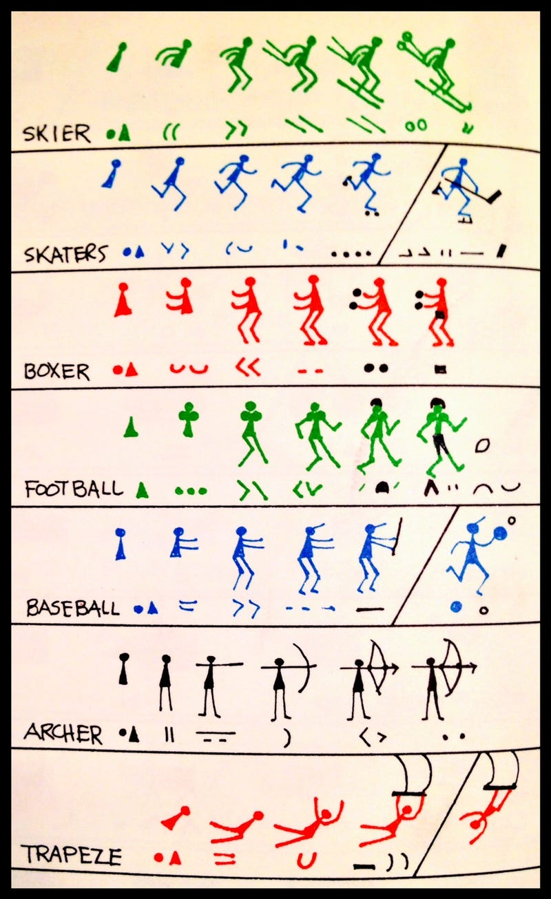 How To Draw Athletes The Ed Emberley Way