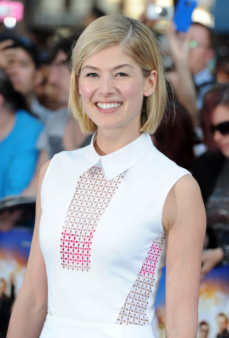 Rosamund Pike Will Star Opposite Ben Affleck in the Gone Girl Movie