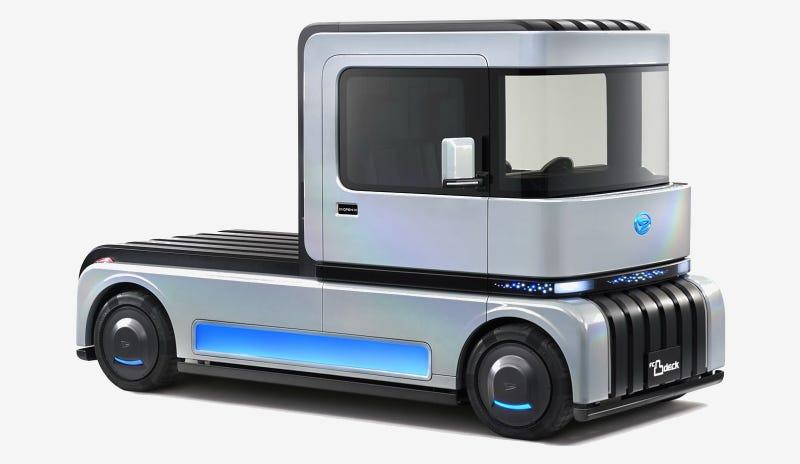 The Daihatsu FC凸DECK Cabover Concept Won't Bring Minitruckin' Back