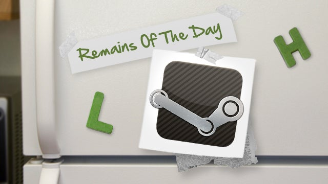 Remains of the Day: Steam Opens Its Software Store