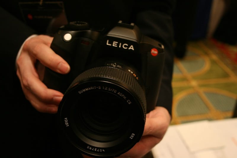 Leica's S2 Is What You Get When You Crossbreed a Tank With a 37-Megapixel Pro Camera