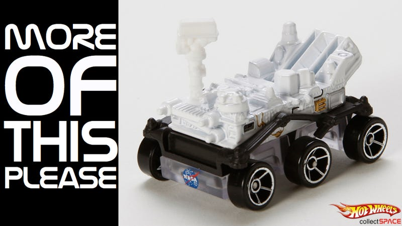 We need more NASA Curiosity rover toys, and we need them now