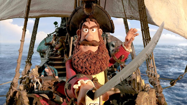 First image from Aardman Animation's Pirates! In an Adventure with Scientists!