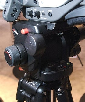NAB07: Manfrotto 503HDV Gives Good Head