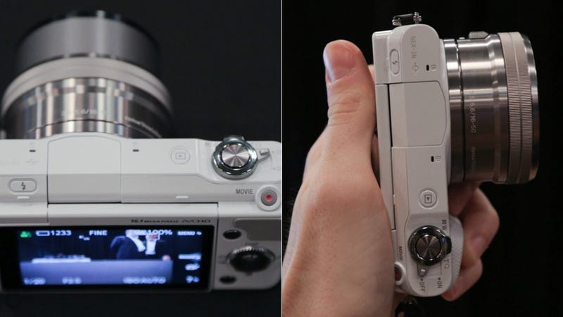 Sony NEX-3N Hands-On: The Teeny Tiny Interchangeable Lens Camera