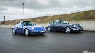 K-Roll's Porsche 911 Generational Comparison: 993 vs 964