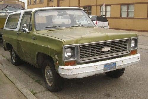 1973 Chevrolet K5 Blazer Down On The Alameda Street