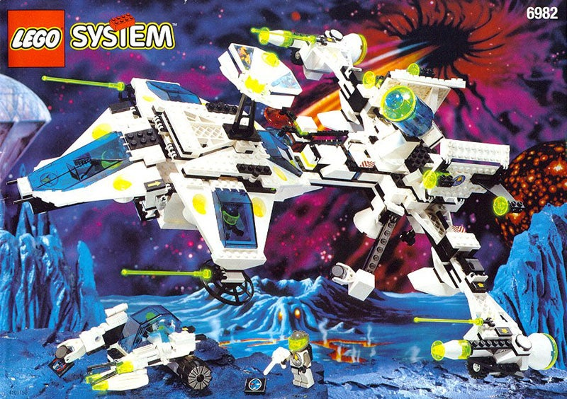 A Black Friday Guide To Lego Space Toys Through The Years