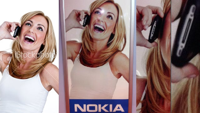 Nokia, It Might Be An Idea to Check a Stock Photo's Phone Brand Before Passing It Off As Your Own