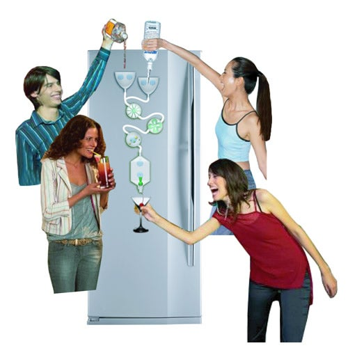 Chugulug Drinks Factory: If Rube Goldberg Were an Underage Girl You Wanted to Get Drunk