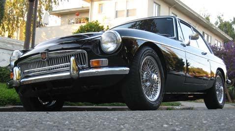 1969 MG MGC-GT