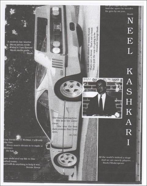 Neel 'Ferrari' Kashkari: The US Bailout Chief's Epic High School Yearbook