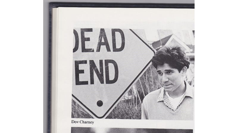 Here Is Dov Charney's Oddly Apropos High School Yearbook Picture