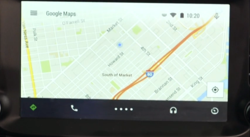 Android Auto Turns Your Car's Dashboard Into a Mobile Device