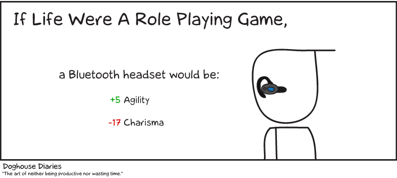 If Life Were a Role Playing Game